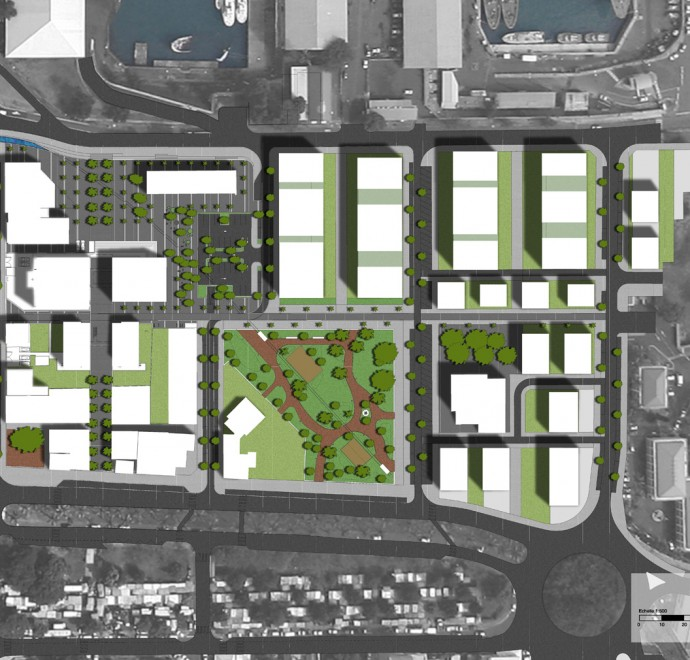 City of Port, ground plan