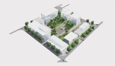 Developing and structuring city entrance – ZAC des Mascareignes
