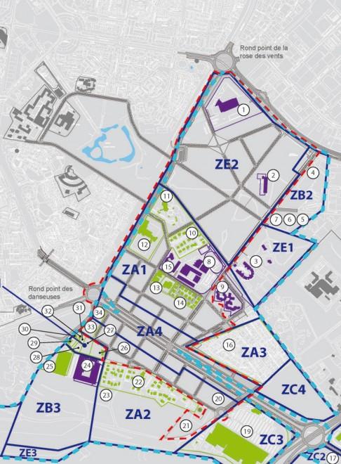 Location Map, ZAC des Mascareignes, La Réunion