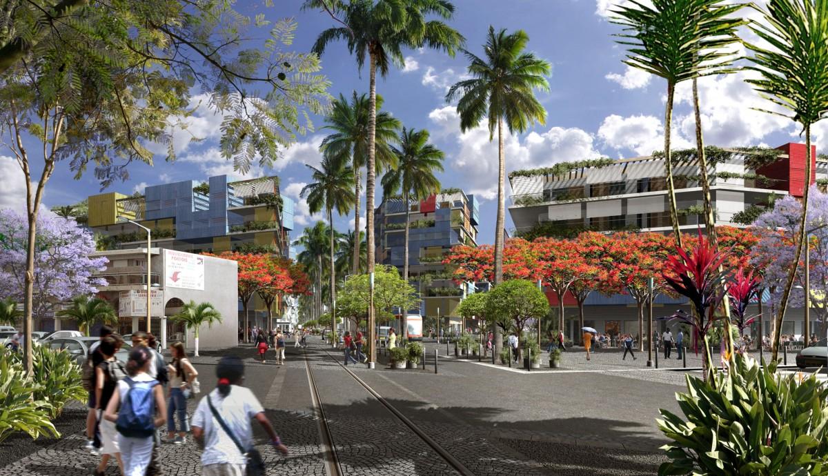City of Port, Reunion – ZAC Mail de l'Océan Indien