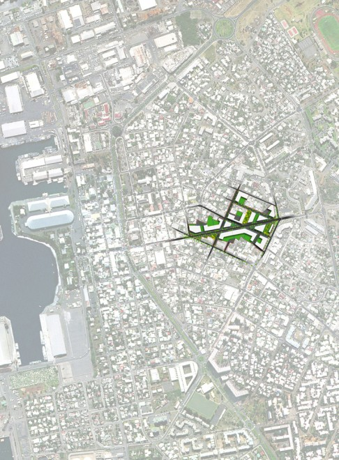 Plan City of Port, Reunion – ZAC Mail de l'Océan Indien